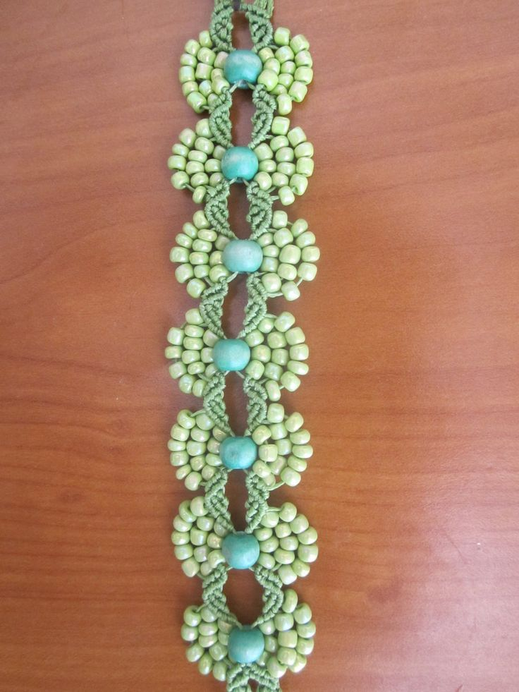 macrame bracelet by Ursulaa on deviantART 102
