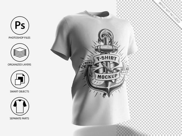 Download White Men T Shirt Mockup Premium Psd Freepik Psd Mockup Fashion T Shirt 3d Shirt Mockup Mens Tshirts T Shirt Folding