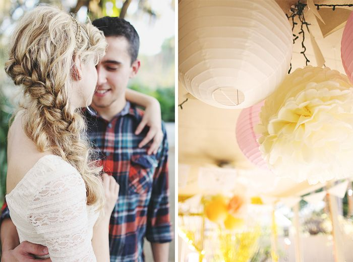 Whimsical Backyard Engagement Party