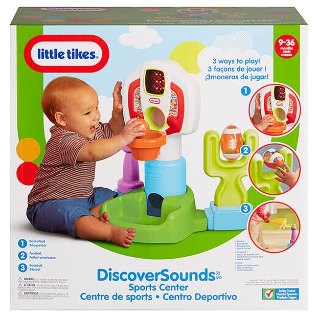 Little Tikes Discover Sounds Sports Centre