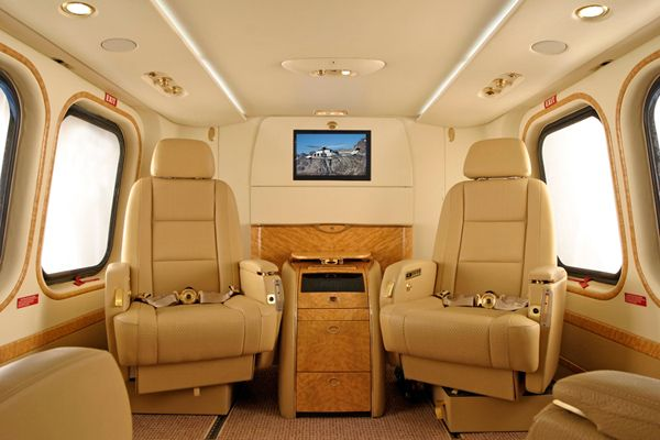 The AW139's helicopter refinement is matched by the highest standards in style and comfort. The spacious cabin provides flexibility for the most sophisticated requirements.