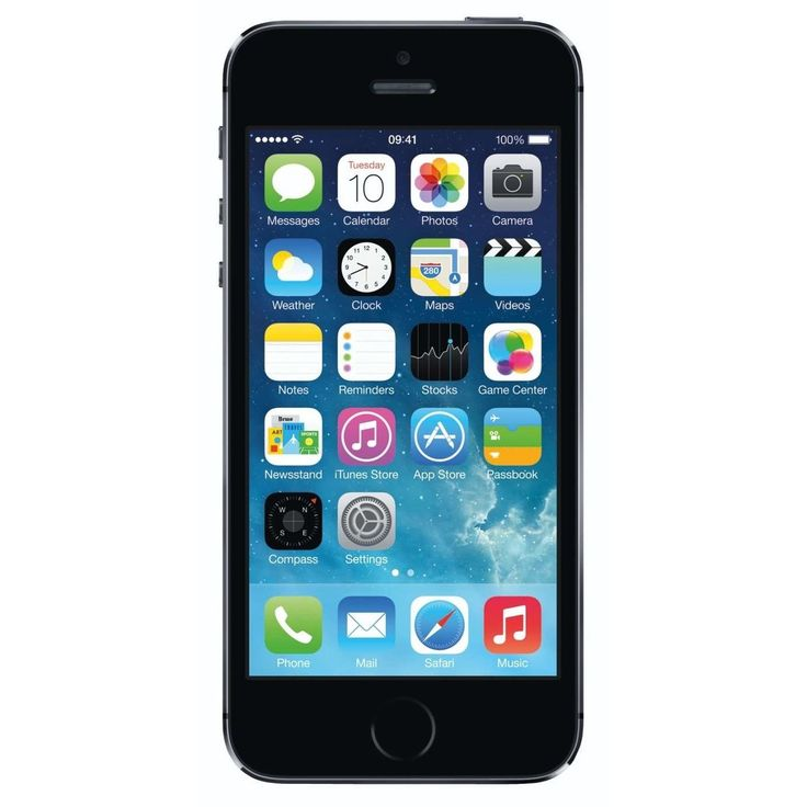 Apple iPhone 5S 32GB Factory Unlocked GSM Seller Refurbished Cell Phone - Space