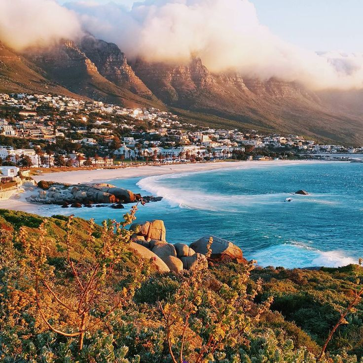 Our very own Mother City has some unforgettable beach spots, but no trip to Cape Town is complete without visiting Camps Bay. The 12 Apostles tower above the glitzy beach-burb to the left, and Signal Hill and Lion Head watch over the powdery-white sand to the right – a perfect sundowner scenario if ever we saw one! So, grab a drink in one of the bars on the Strip, or sit on the rocks next to the tidal pool and learn why Capetonians can't stop shouting about their extraordinary sunsets.