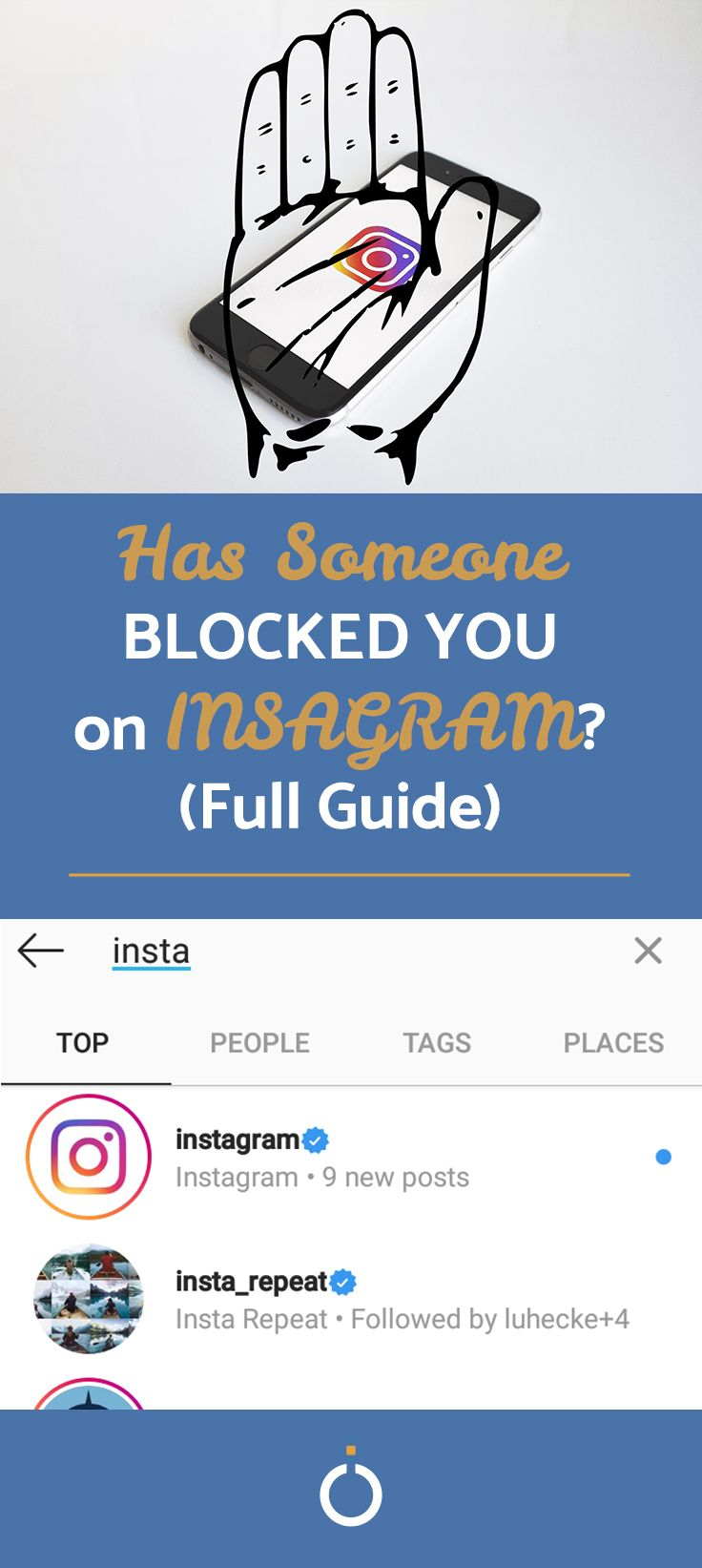 All The Ways To Know If You Are Blocked How To Know Instagram Send Text Message