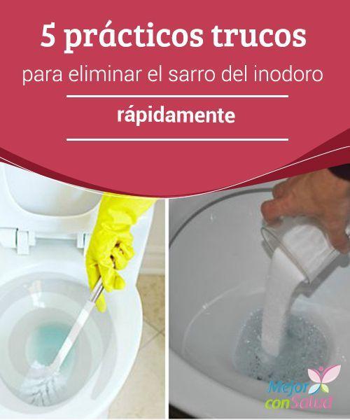 5 pr cticos trucos para eliminar el sarro del inodoro - Trucos para limpiar el bano ...