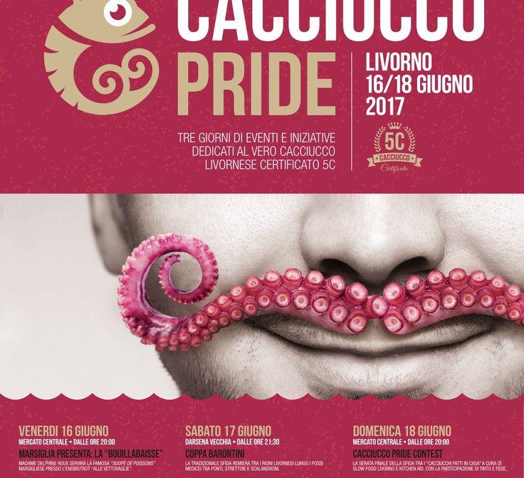 Cacciucco Pride, festival legato alla famosa ricetta toscana di pesce https://www.facebook.com/osteria.baccano.restaurant.san.gimignano/ http://www.ansa.it/canale_terraegusto/notizie/prodotti_tipici/2017/06/13/cacciucco-day-al-via-a-livorno-2a-edizione_9ac48a2e-a4df-4791-a822-0a7211faffd6.html