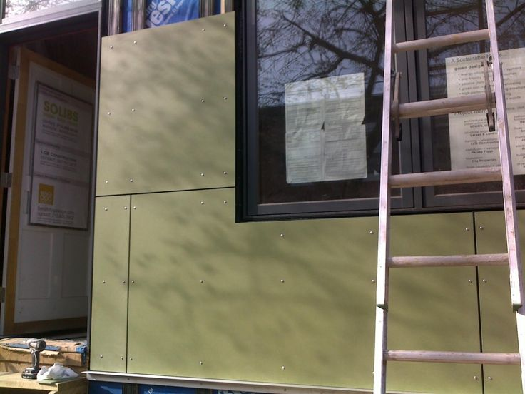 Fiber Cement Panel Details : Fiber cement rainscreen panels project highlands