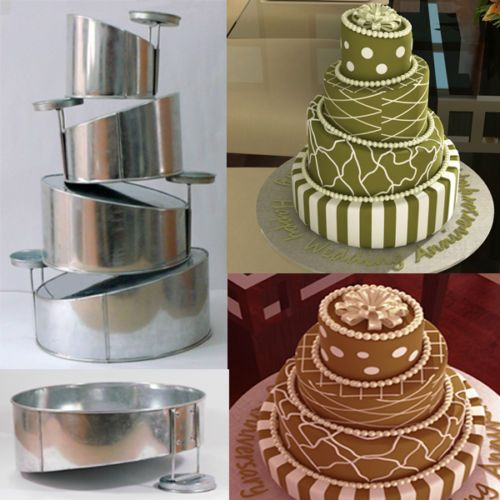 Layer Cake Pans With Removable Bottoms