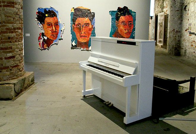 Kay Hassan, Venice Biennale 2015  /  © Photo: Haupt & Binder