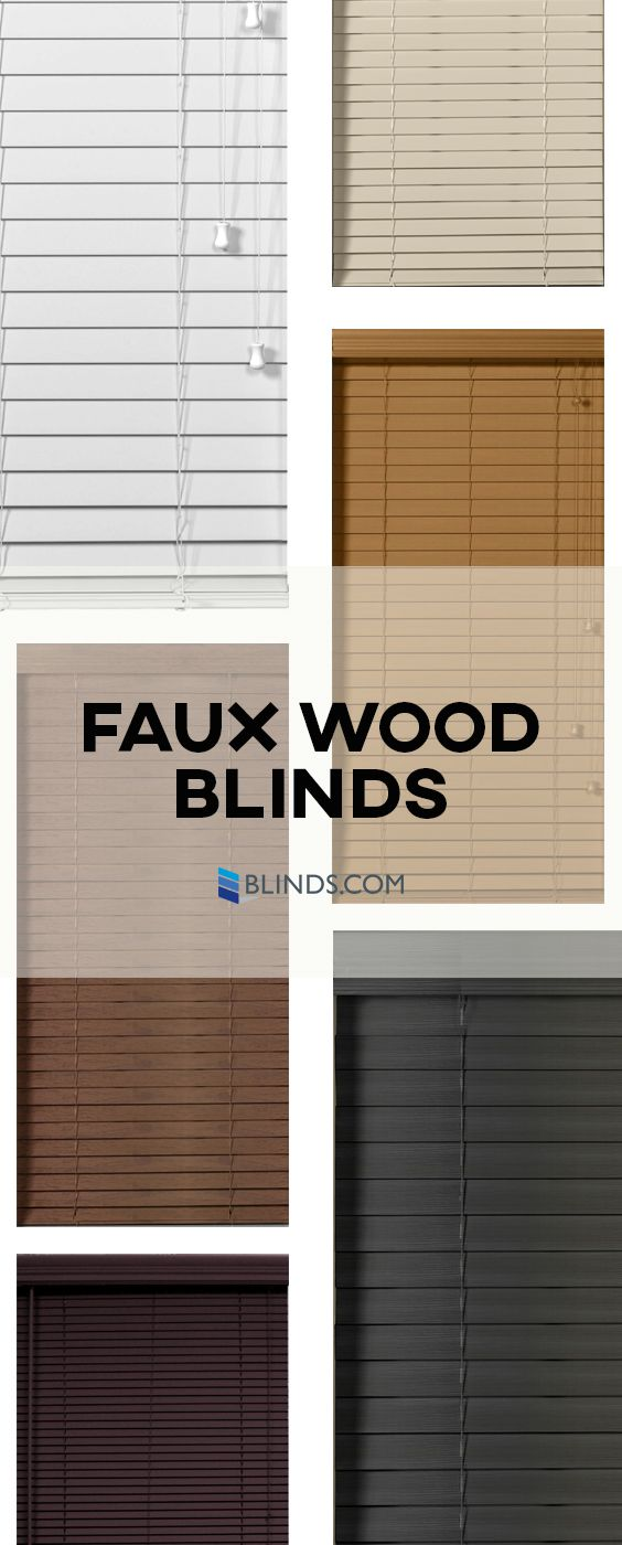 our horizontal fauxwood blinds give you the best of both worlds they have the look