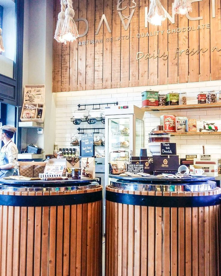 DaVinci Artisan gelato in Athens is not a place you want to miss!