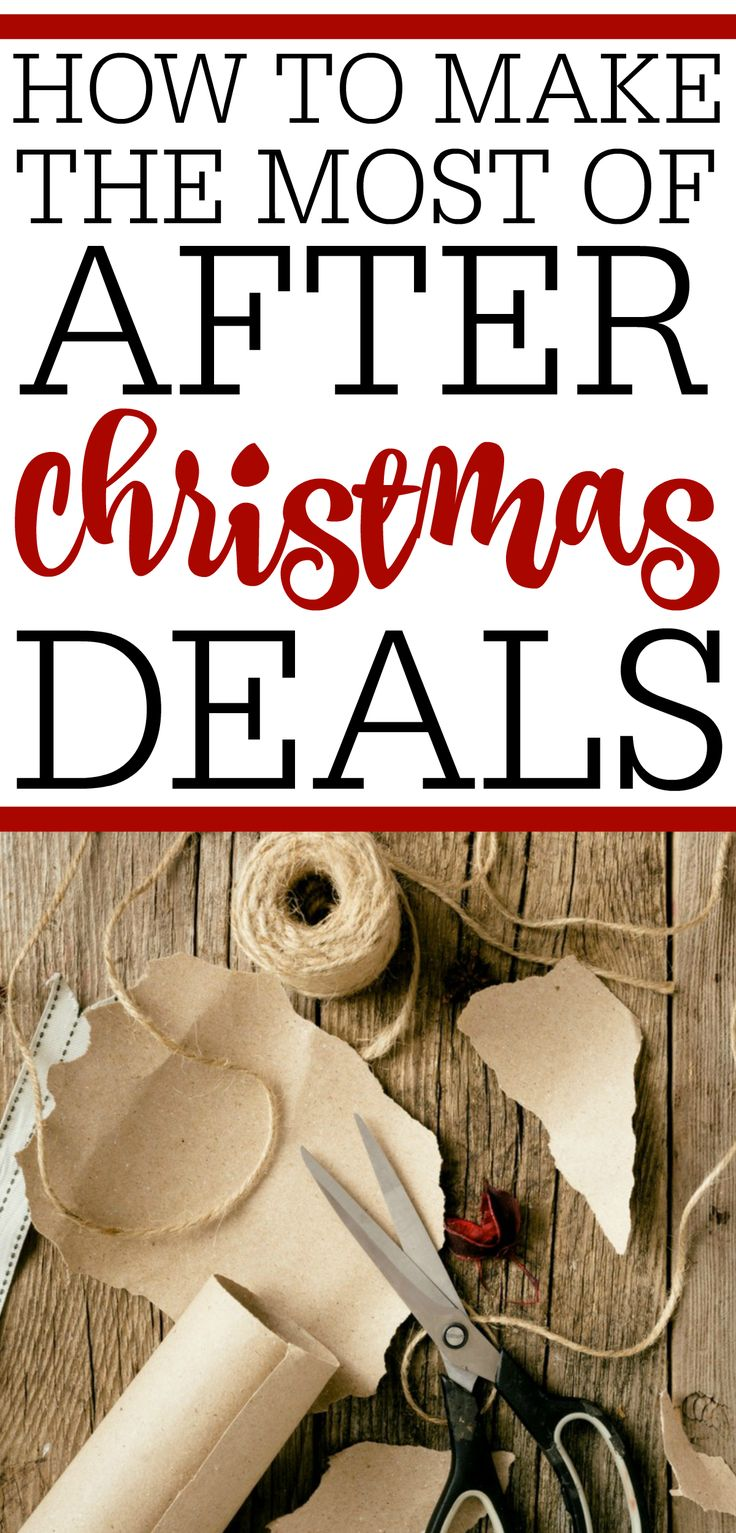 Planning on doing some after the holidays shopping? See how to make the most of after Christmas deals. It is the best way to save time and money.