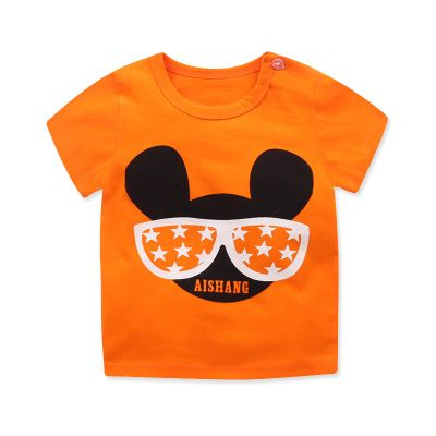 57e2a760ba6a Short Sleeve T-shirt For Seasonal Children Cotton Children s Wear ...