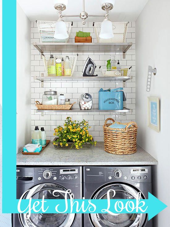 How to create a luxury laundry room!