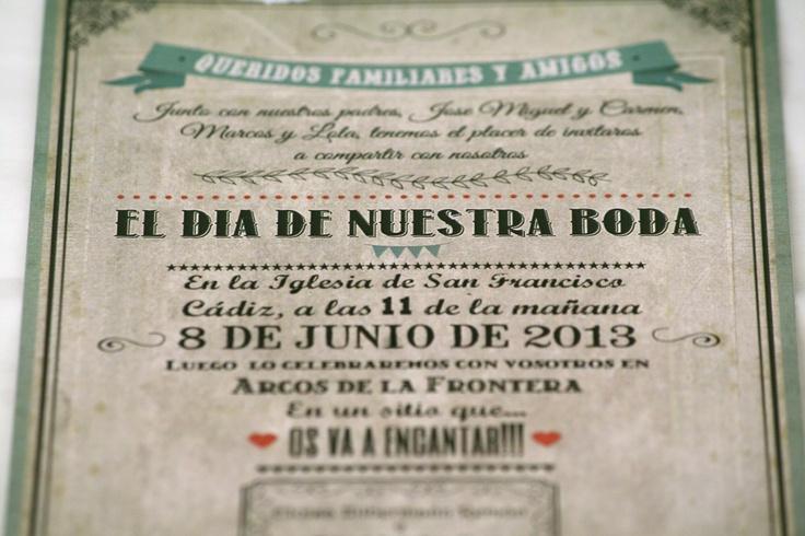 invitacion boda   http://bertallonch.com/2013/06/10/creaciones-de-boda/