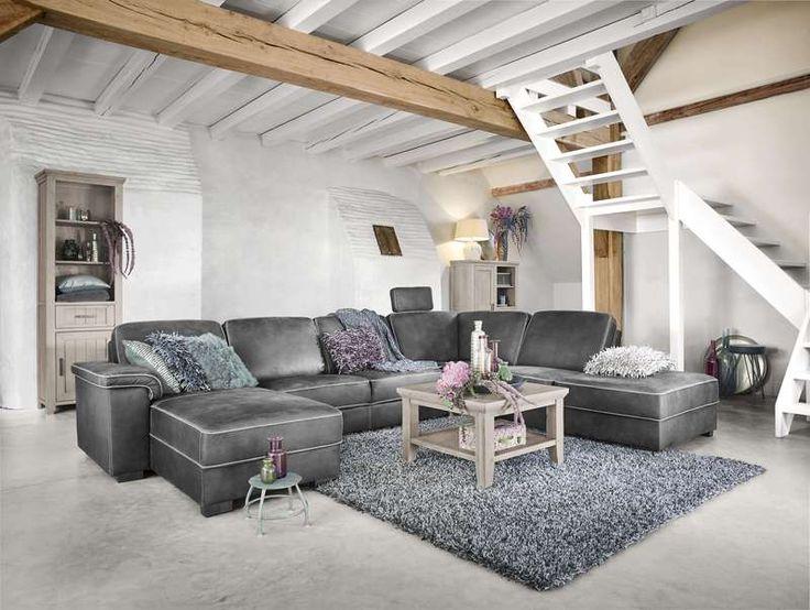 Woonkamer met hoekbank tarragona voor meer informatie en de diverse mogelijkheden kijkt u op - Model woonkamer ...
