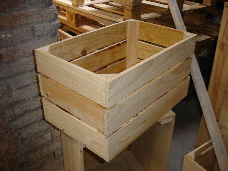 caja madera fruta modelo 4f - Caja De Madera Fruta