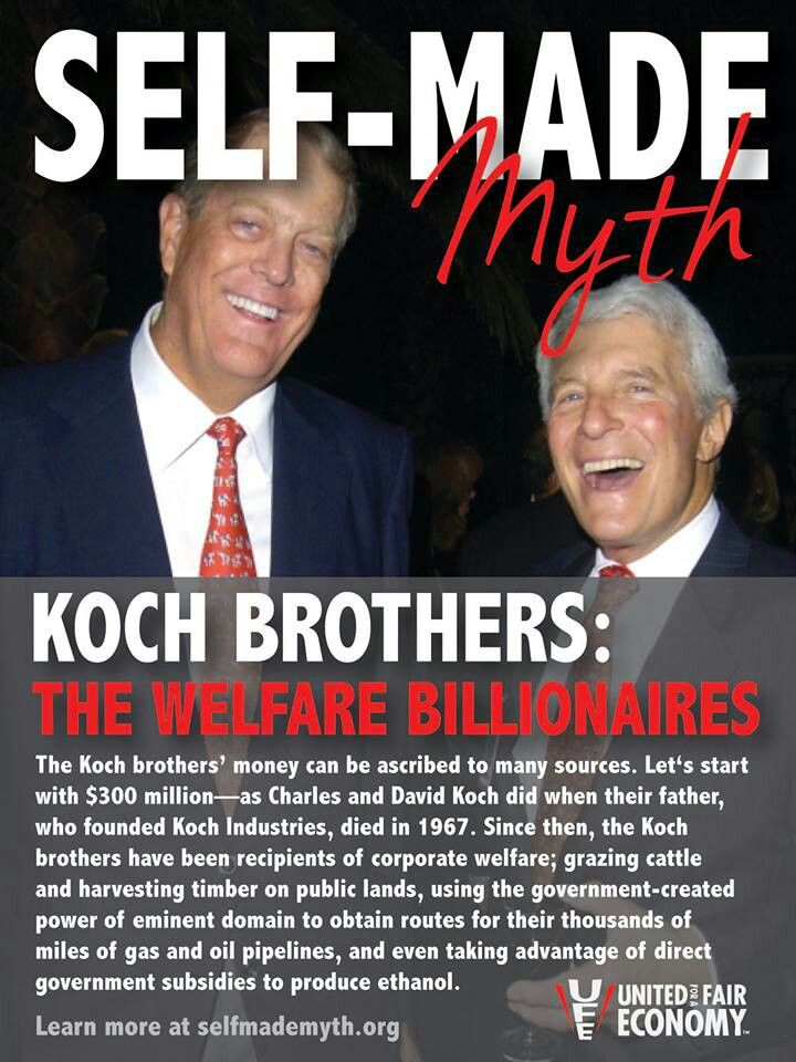 The Koch Bros - head of one of the most criminal businesses in the country - attempt to assassinate the character of a Rolling Stone journalist. Read more: http://www.rollingstone.com/politics/news/koch-industries-responds-to-rolling-stone-and-we-answer-back-20140929#ixzz3SgBTKaP0 Follow us: @rollingstone on Twitter | RollingStone on Facebook. VOTE FOR BERNIE! #FeeltheBern