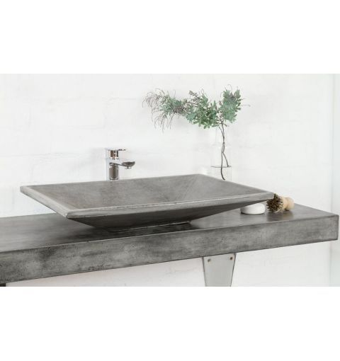 Vortex Concrete Basin Dark Grey