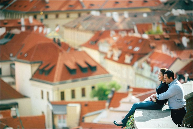 more from above Mala Strana in Prague