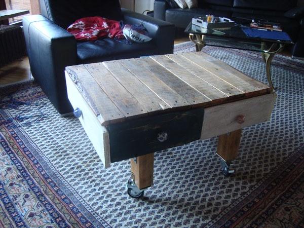 tisch aus europaletten pallet pinterest. Black Bedroom Furniture Sets. Home Design Ideas