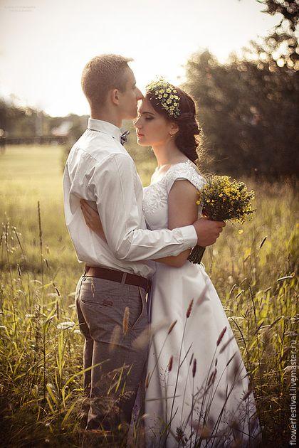 Wedding diadem / Цветы ручной работы. Ярмарка Мастеров - ручная работа. Купить Ободок с лютиками.Лютики из шелка.Желтая свадьба. Handmade. Желтый