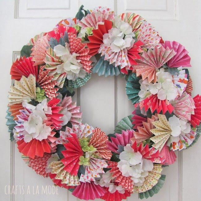 Coffee Filter Wreath Diy How To Make