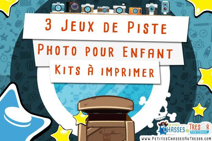 Jeu de piste photo à faire avec des enfants ! Voici 3 kits à imprimer gratuitement. Réaliser un safari photo pour enfant à l'intérieur ou à l'extérieur.