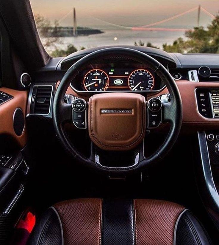 2017 Luxury Range Rover Sport Interior Автомобили