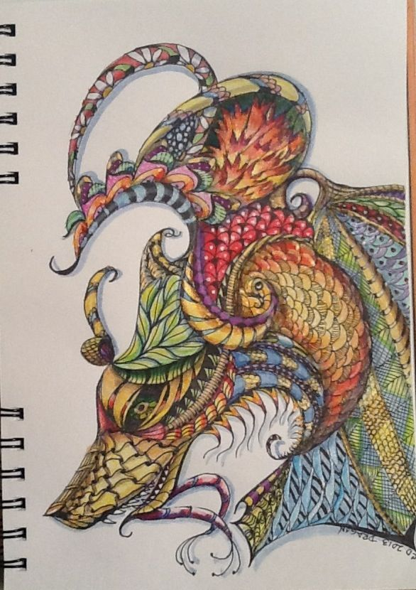 319 best zentangle colored images on pinterest for Tangle creations ebay
