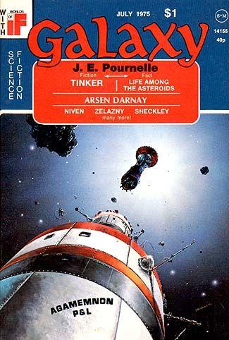 RICK STERNBACH - Tinker by Jerry Pournellie - July 1975 Galaxy