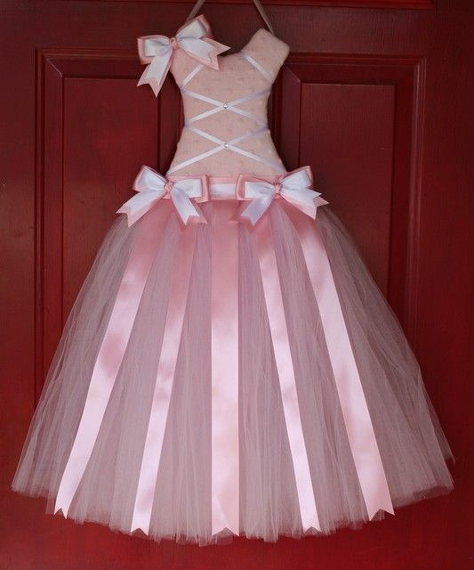 Lil Ballerina Tutu Bow Holder   Large by addlils on Etsy, $45.00  I just love this bow holder! Beautiful