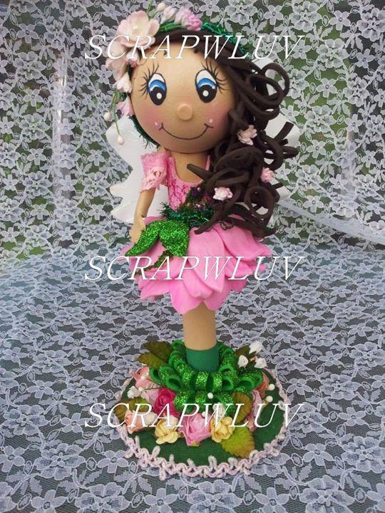 Flower Fairy Fofucha Pen Doll