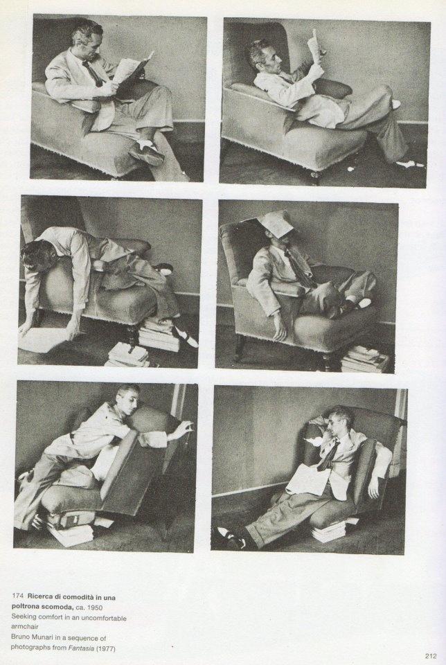 """""""Swing into books"""", Bruno Munari"""