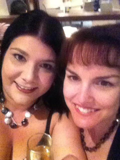 me and Sonya chillin at Brisbane Hilton