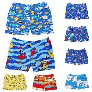 Boys Trunks Adorable Character's Children Beach Swim Trunks Boys- SwimWear