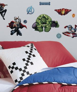 Another great find on #zulily! Avengers Assemble Peel & Stick Decals by Marvel #zulilyfinds