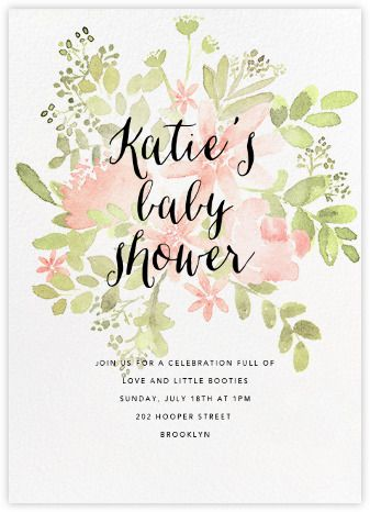 Delightful Wrapped In Wildflowers (Invitation)   Paperless Post