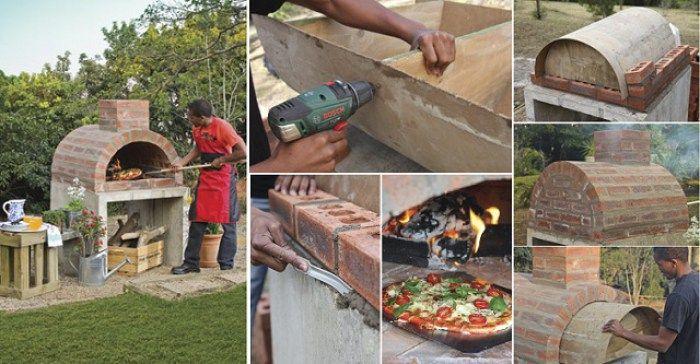 ECO-IDEAS Y RECICLAJE : Como hacer tu propio horno casero para pizzas