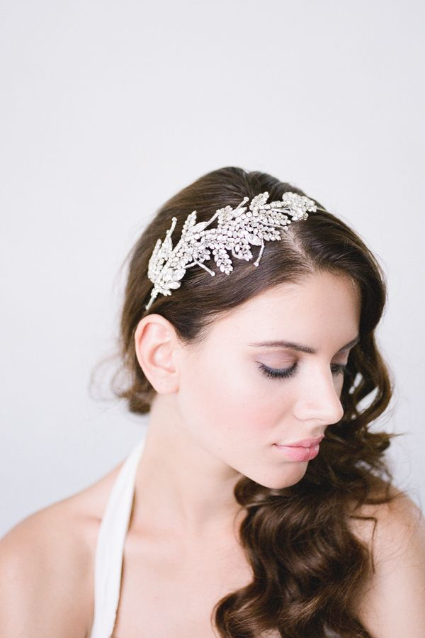 Bride La Boheme | Romilly Silver bridal headpiece #bridalheadpieces #weddingaccessories #bridelaboheme ( Instagram @bridelaboheme)