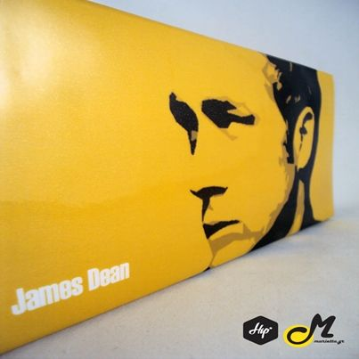 "Handmade Printed Clutch - ""James Dean"" (Limited Edition)  #Hip #Hipyourteez #Accessories #Mariettas #Ηandmade #Printed #Clutch #Bags #Card_Holders #Limited_Edition #Exclusive#Lana_Del_Rey #James_Dean #Rihanna #RiRi"