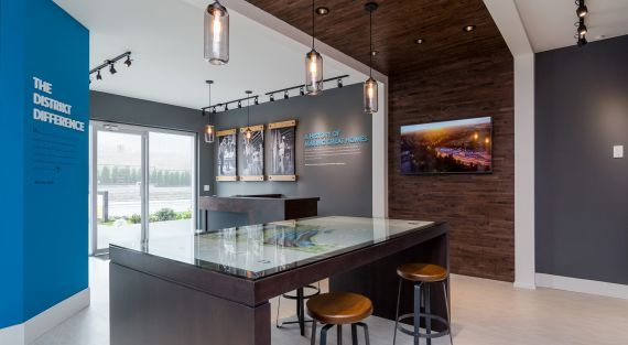 Hyde Canyon Presentation Centre, creative real estate development branding by Studiothink / Vancouver, BC