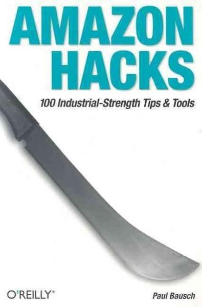 Amazon Hacks is a collection of tips and tools for getting the most out of Amazon.com, whether you're an avid Amazon shopper, Amazon Associate developing your online storefront and honing your recomme