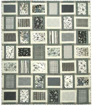 17 best images about black white gray quilts on pinterest for Black white and gray quilt patterns