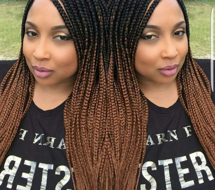 Pin by Danielle Strickland on Ombre Box Braids | Pinterest ...