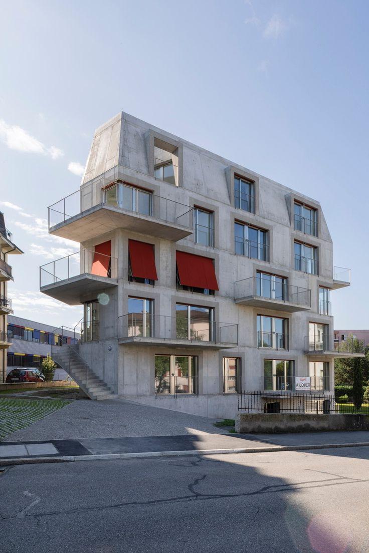 Das Maximum an Raum rausholen – Wohnhaus von Dreier Frenzel in Renens bei Lausanne