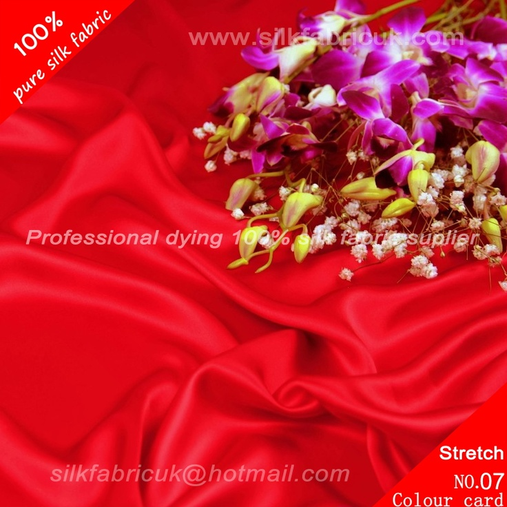 16mm silk stretch satin fabric-scarlet http://www.silkfabricuk.com/16mm-silk-stretch-satin-fabricscarlet-p-145.html