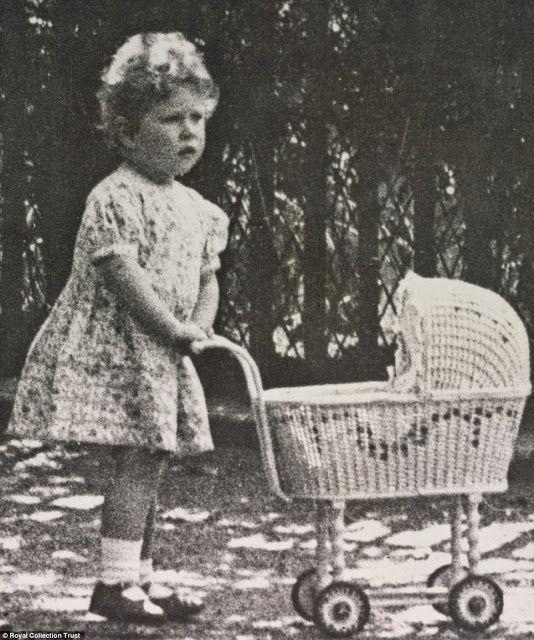 Принцесса Елизавета, Лондон, 1928г