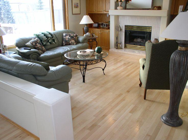 """Friesen Floor & Decor Preverco Hard Maple Variation  2 1/4"""" Boards"""