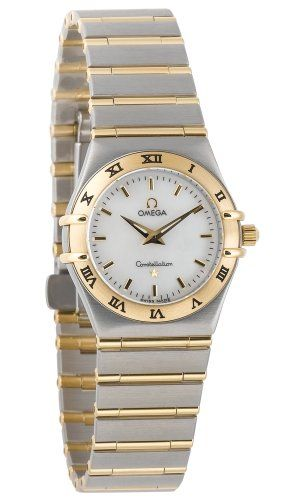 Omega Women's 1272.70.00 Constellation Quartz Small Two-Tone Watch |
